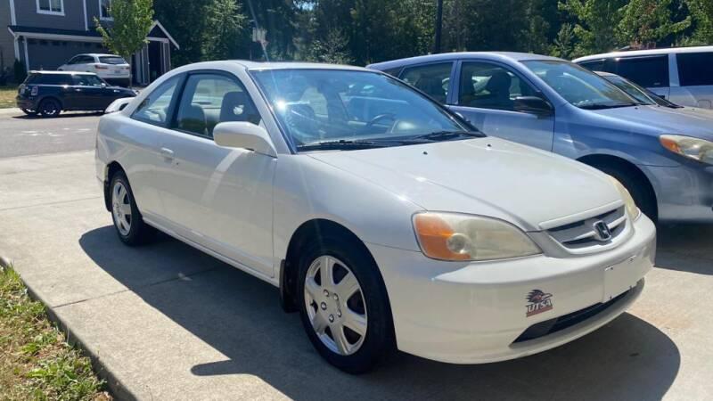 2002 Honda Civic for sale at JD Auto Sales LLC in Fife WA