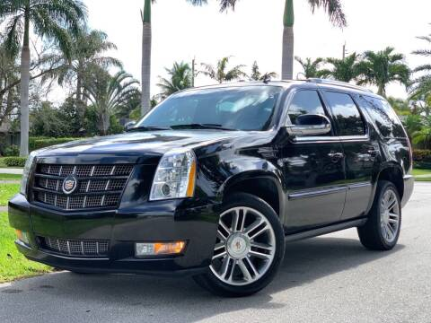 2013 Cadillac Escalade for sale at HIGH PERFORMANCE MOTORS in Hollywood FL