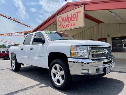 2012 Chevrolet Silverado 1500 for sale at Sandlot Autos in Tyler TX