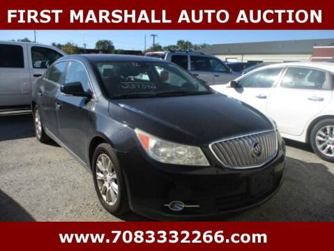 2012 Buick LaCrosse for sale at First Marshall Auto Auction in Harvey IL