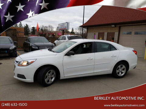 2014 Chevrolet Malibu for sale at Berkley Automotive Inc. in Berkley MI