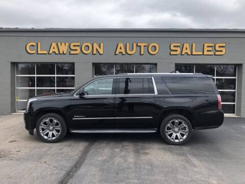 2015 GMC Yukon XL for sale at Clawson Auto Sales in Clawson MI