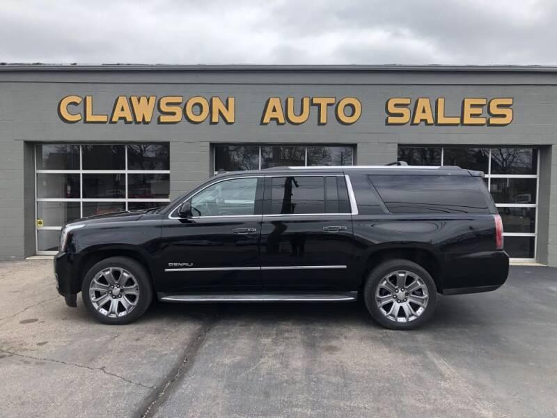 2015 GMC Yukon XL for sale at Clawson Auto Sales in Clawson MI