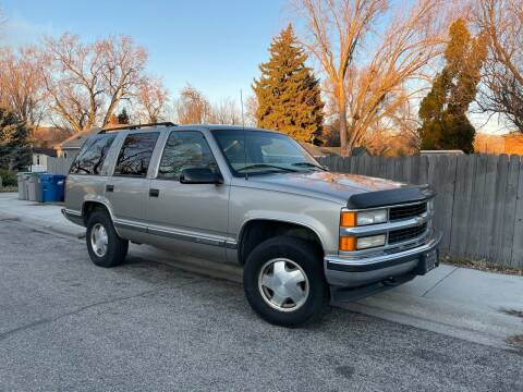 1999 Chevrolet Tahoe for sale at Ace Auto Sales in Boise ID