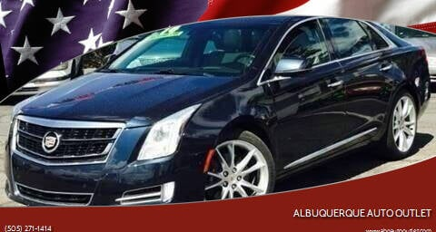 2014 Cadillac XTS for sale at ALBUQUERQUE AUTO OUTLET in Albuquerque NM