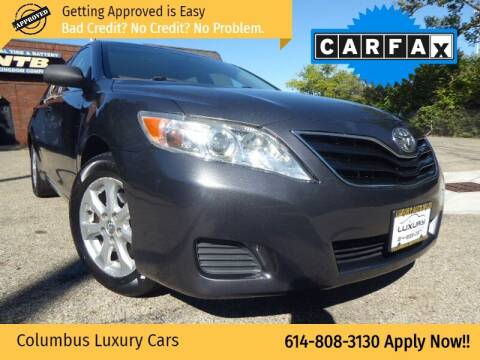 2011 Toyota Camry for sale at Columbus Luxury Cars in Columbus OH