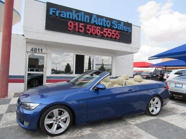 2007 BMW 3 Series for sale at Franklin Auto Sales in El Paso TX