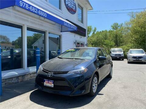 2017 Toyota Corolla for sale at Best Price Auto Sales in Methuen MA