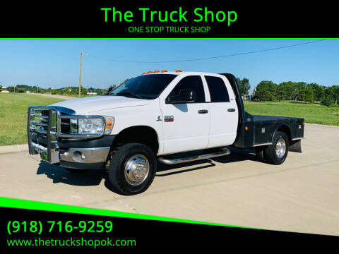 2007 Dodge Ram Chassis 3500 for sale at The Truck Shop in Okemah OK