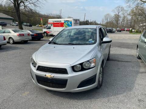 2016 Chevrolet Sonic for sale at Noble PreOwned Auto Sales in Martinsburg WV