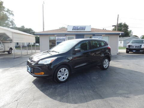 2014 Ford Escape for sale at DeLong Auto Group in Tipton IN
