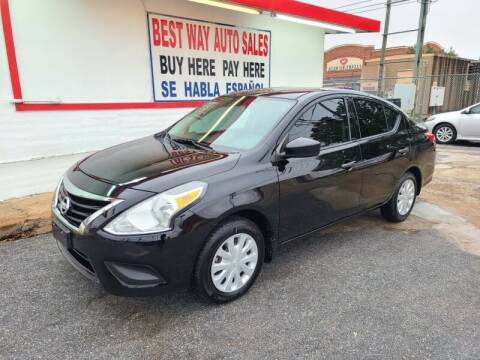 2017 Nissan Versa for sale at Best Way Auto Sales II in Houston TX