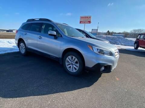 2015 Subaru Outback for sale at Osceola Auto Sales and Service in Osceola WI