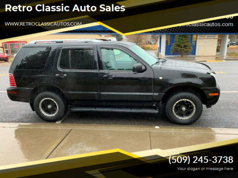 2004 Mercury Mountaineer for sale at Retro Classic Auto Sales - Modern Cars in Spangle WA