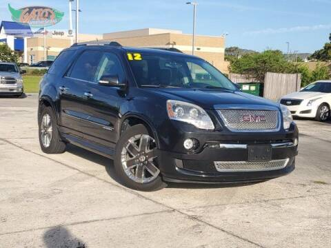 2012 GMC Acadia for sale at GATOR'S IMPORT SUPERSTORE in Melbourne FL