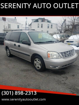 2006 Ford Freestar for sale at SERENITY AUTO OUTLET in Frederick MD