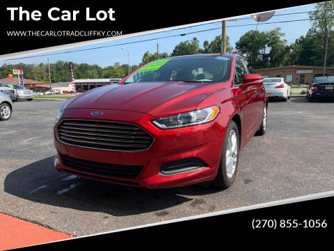 2014 Ford Fusion for sale at The Car Lot in Radcliff KY