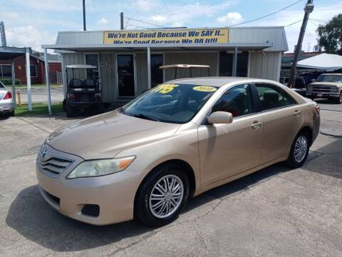 2010 Toyota Camry for sale at Taylor Trading Co in Beaumont TX