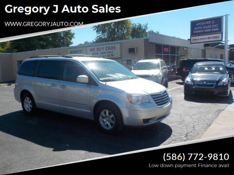 2008 Chrysler Town and Country for sale at Gregory J Auto Sales in Roseville MI
