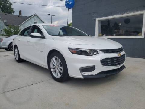 2016 Chevrolet Malibu for sale at Julian Auto Sales, Inc. - Number 1 Car Company in Detroit MI