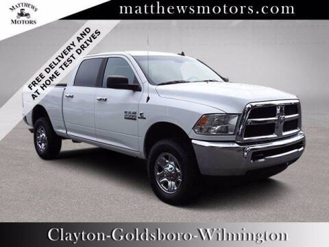 2018 RAM Ram Pickup 2500 for sale at Auto Finance of Raleigh in Raleigh NC