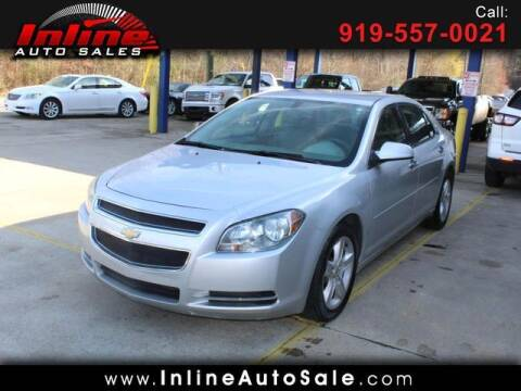 2012 Chevrolet Malibu for sale at Inline Auto Sales in Fuquay Varina NC