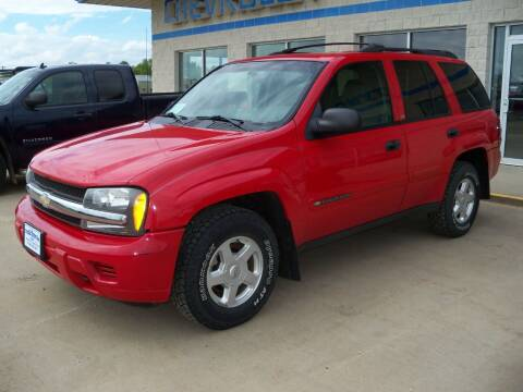 2002 Chevrolet TrailBlazer for sale at Tyndall Motors in Tyndall SD