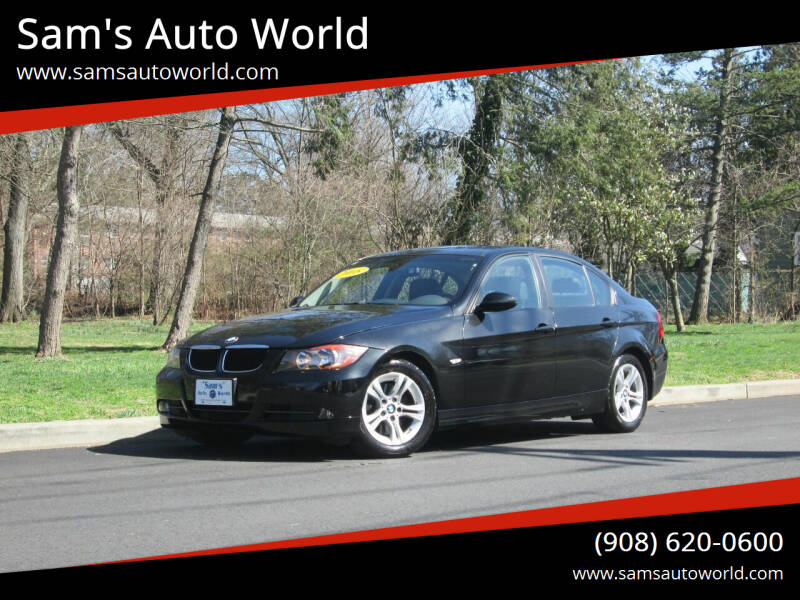2008 BMW 3 Series for sale at Sam's Auto World in Roselle NJ