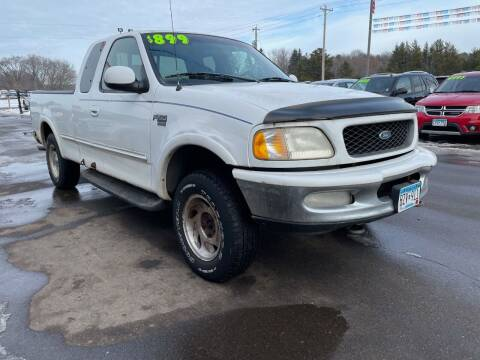 1998 Ford F-150 for sale at Sand's Auto Sales in Cambridge MN