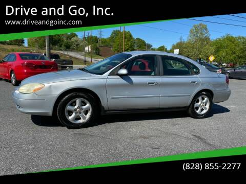 2003 Ford Taurus for sale at Drive and Go, Inc. in Hickory NC