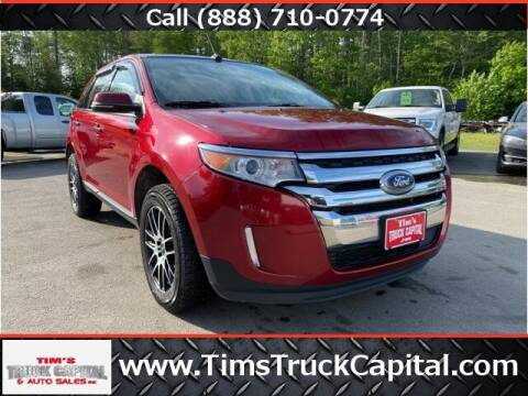 2014 Ford Edge for sale at TTC AUTO OUTLET/TIM'S TRUCK CAPITAL & AUTO SALES INC ANNEX in Epsom NH