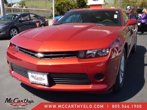 2015 Chevrolet Camaro for sale at McCarthy Wholesale in San Luis Obispo CA