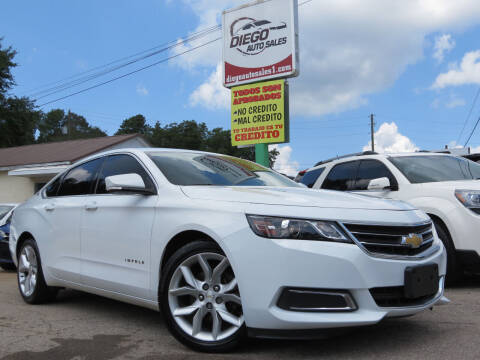 2015 Chevrolet Impala for sale at Diego Auto Sales #1 in Gainesville GA