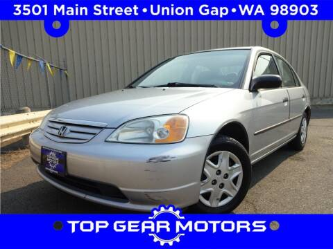 2003 Honda Civic for sale at Top Gear Motors in Union Gap WA