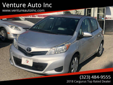 2012 Toyota Yaris for sale at Venture Auto Inc in South Gate CA