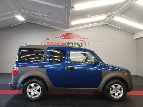 2004 Honda Element for sale at Premium Motors in Villa Park IL