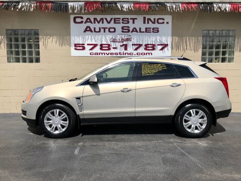 2012 Cadillac SRX for sale at Camvest Inc. Auto Sales in Depew NY