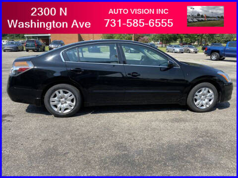 2010 Nissan Altima for sale at Auto Vision Inc. in Brownsville TN