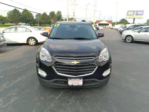 2017 Chevrolet Equinox for sale at Reliable Wheels Used Cars in West Chicago IL