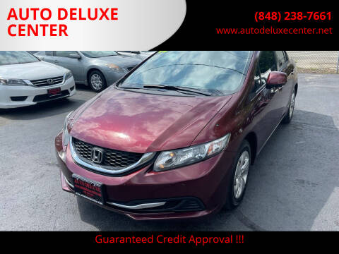 2013 Honda Civic for sale at AUTO DELUXE CENTER in Toms River NJ