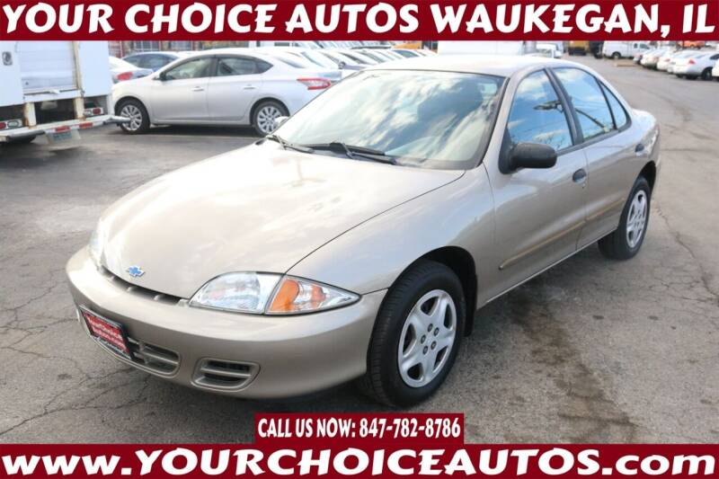 2002 Chevrolet Cavalier for sale at Your Choice Autos - Waukegan in Waukegan IL