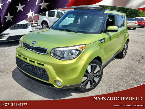2014 Kia Soul for sale at Mars auto trade llc in Kissimmee FL