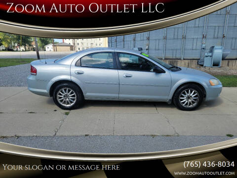 2002 Chrysler Sebring for sale at Zoom Auto Outlet LLC in Thorntown IN