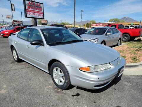 2003 Oldsmobile Alero for sale at ATLAS MOTORS INC in Salt Lake City UT