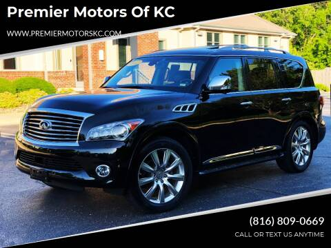 2011 Infiniti QX56 for sale at Premier Motors of KC in Kansas City MO