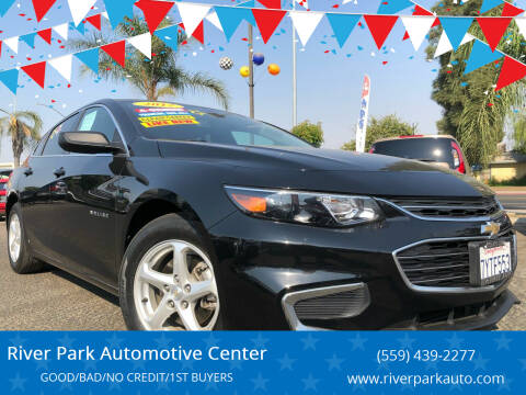 2017 Chevrolet Malibu for sale at River Park Automotive Center in Fresno CA