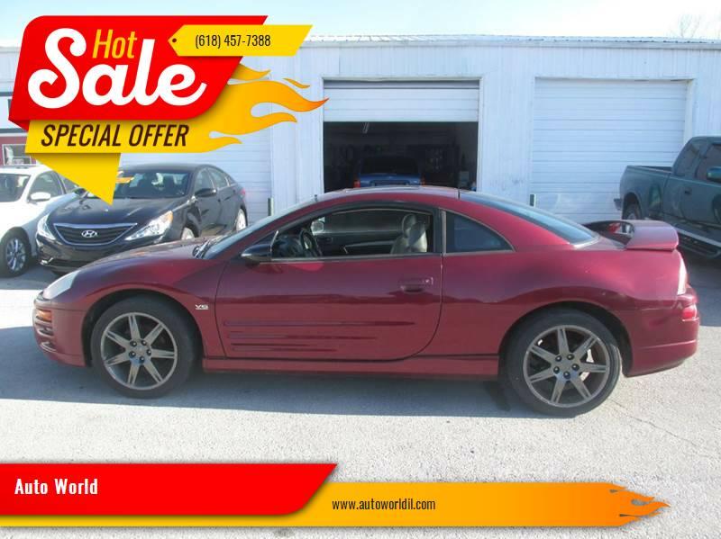 2004 Mitsubishi Eclipse for sale at Auto World in Carbondale IL