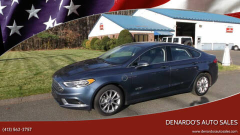 2018 Ford Fusion Energi for sale at DeNardo's Auto Sales in Westfield MA