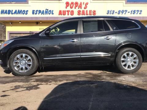 2013 Buick Enclave for sale at Popas Auto Sales in Detroit MI
