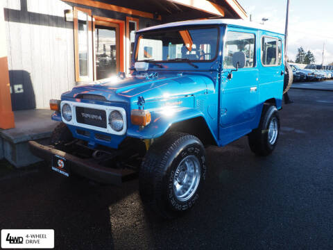 1982 Toyota Land Cruiser for sale at Sabeti Motors in Tacoma WA